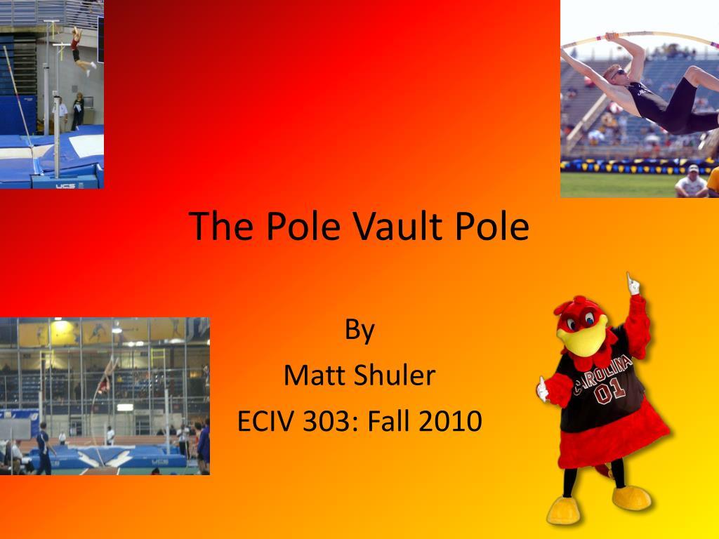 the pole vault pole l.