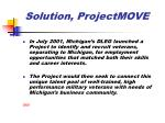 solution projectmove