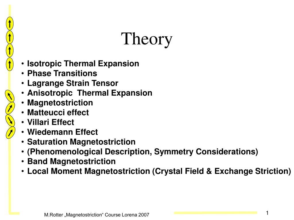 theory l.