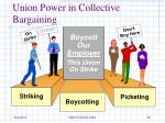 union power in collective bargaining
