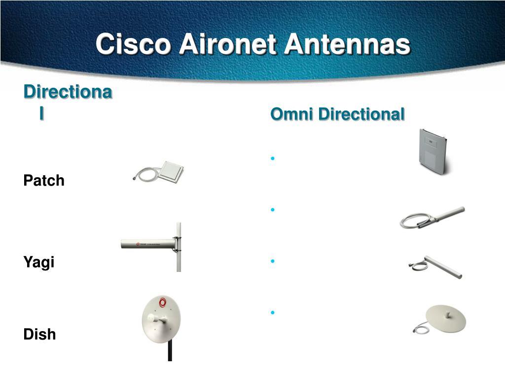 Cisco Aironet Antennas
