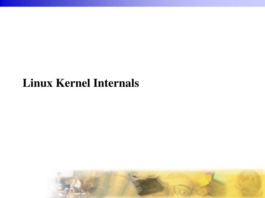 linux kernel internals l.
