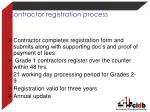 contractor registration process