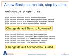 a new basic search tab step by step6