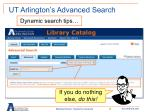 ut arlington s advanced search3