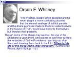 orson f whitney