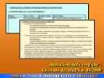 indicazioni delle verifiche circolare del mlps n 46 20001