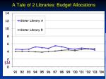 a tale of 2 libraries budget allocations