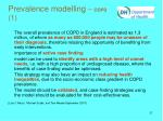 prevalence modelling copd 1