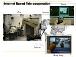 internet based tele cooperation