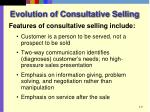 evolution of consultative selling