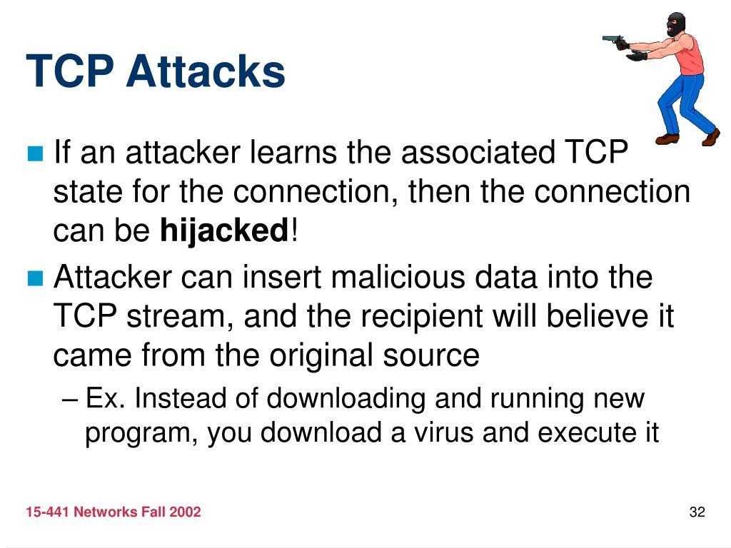 TCP Attacks