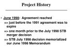 project history6