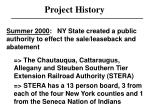 project history7