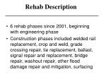 rehab description