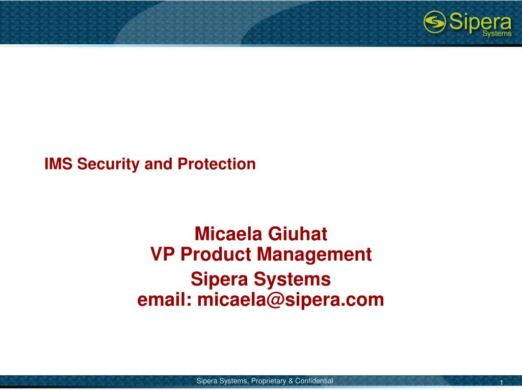ims security and protection l.