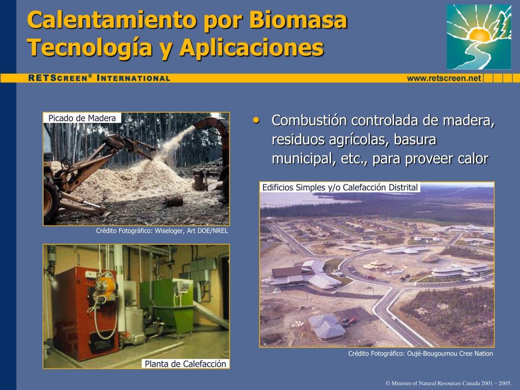 Calentamiento por Biomasa