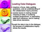 leading data dialogues