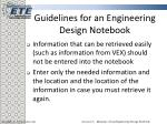 guidelines for an engineering design notebook10