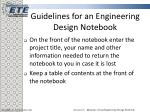 guidelines for an engineering design notebook6