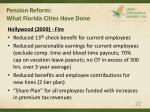pension reform what florida cities have done22