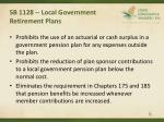 sb 1128 local government retirement plans6