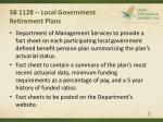 sb 1128 local government retirement plans8
