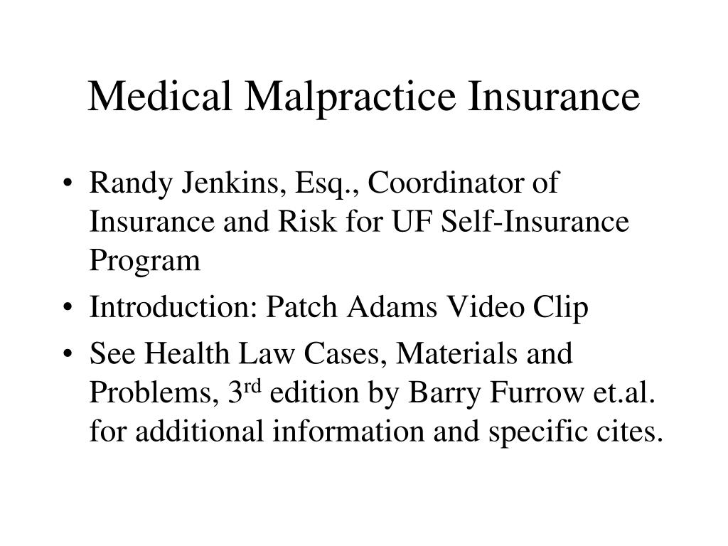 medical malpractice insurance l.