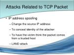 attacks related to tcp packet10