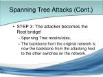 spanning tree attacks cont