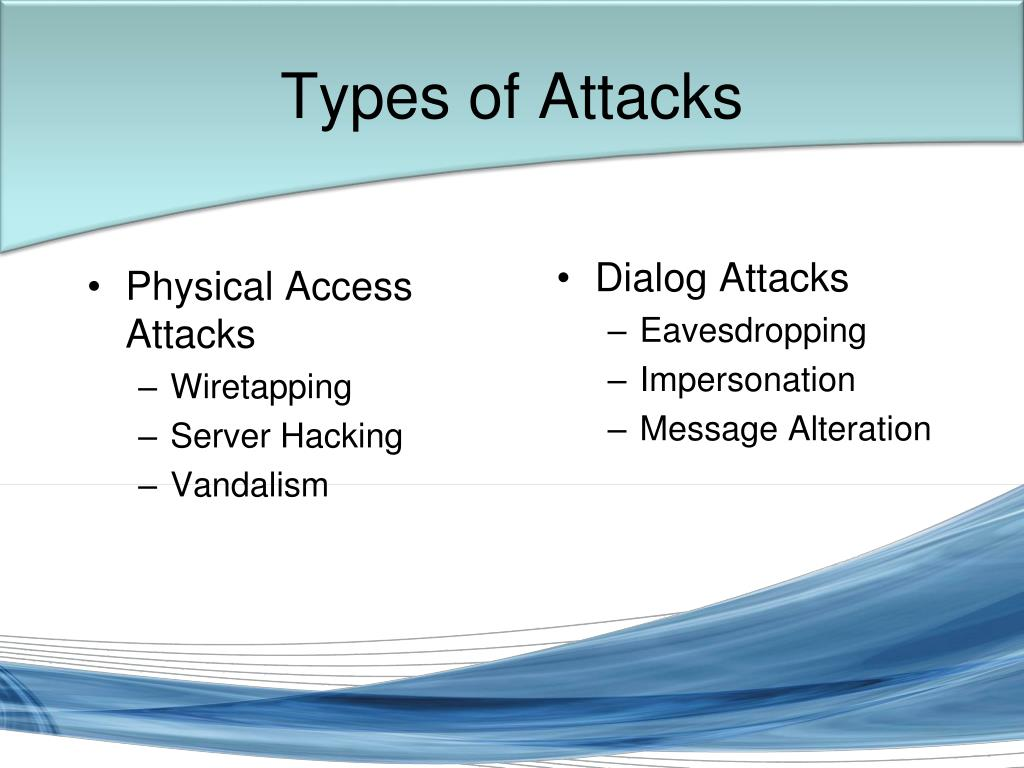Physical Access Attacks