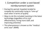 i competition under a cost based reimbursement system1