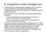 iii competition under managed care1