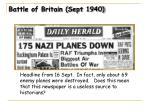 battle of britain sept 19401