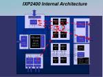 ixp2400 internal architecture