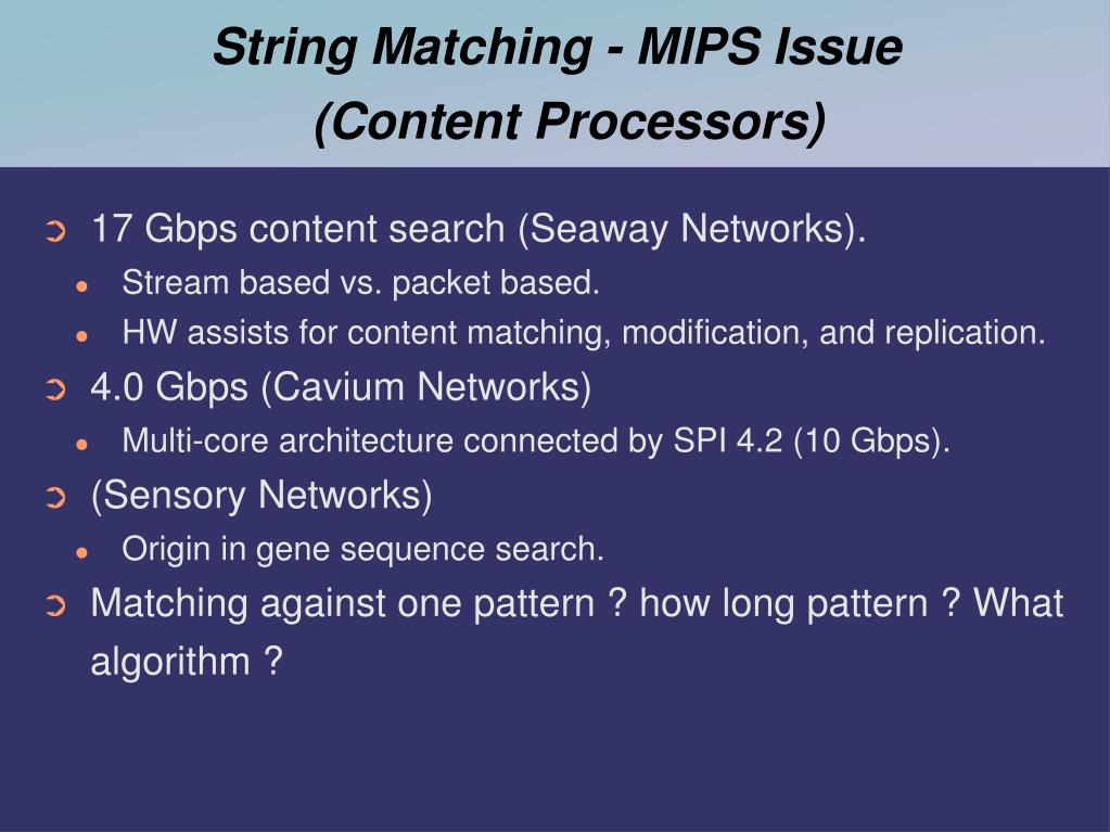 String Matching - MIPS Issue