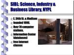 sibl science industry business library nypl