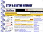 step 5 use the internet