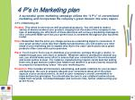 4 p s in marketing plan