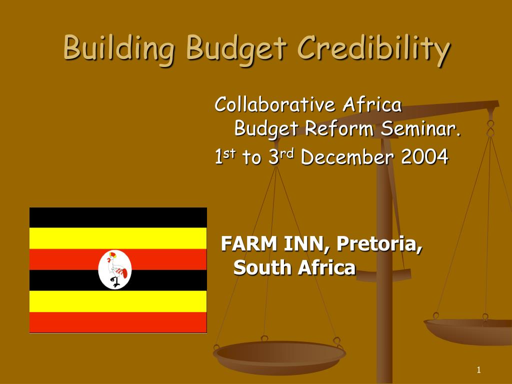 building budget credibility l.