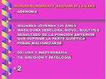 neoplasias benignas y malignas de la mama22