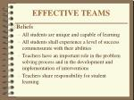 effective teams