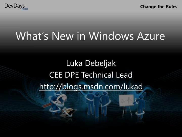 what s new in windows azure n.