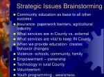 strategic issues brainstorming9