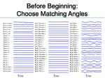 before beginning choose matching angles