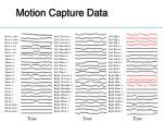 motion capture data