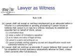 lawyer as witness36