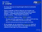 macro basics d looping