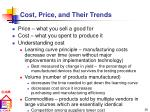cost price and their trends