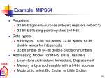 example mips64